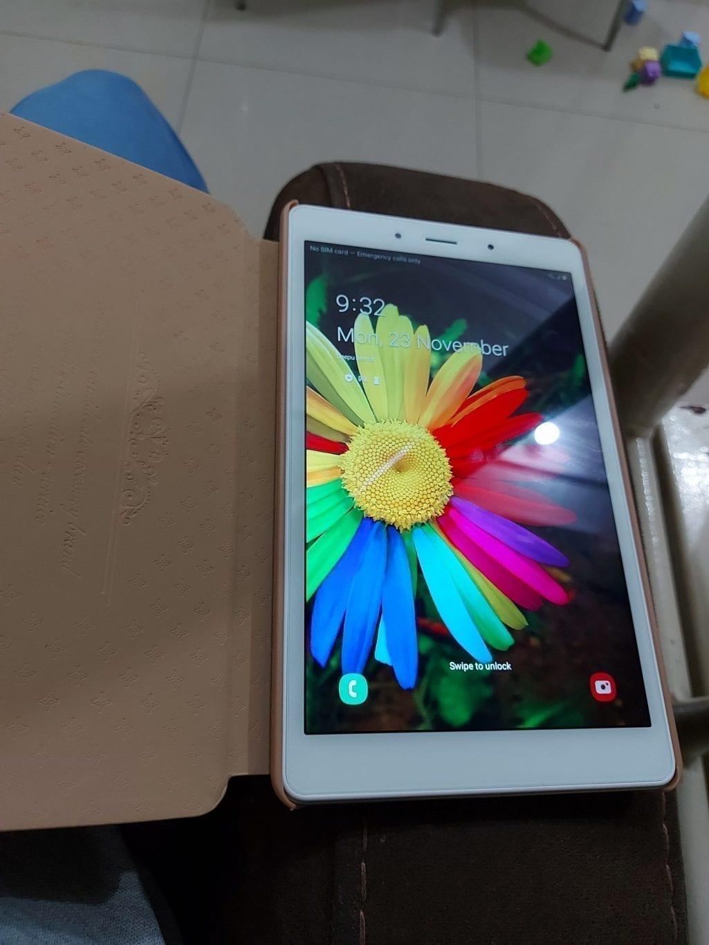 Samsung Tab A 4g silver