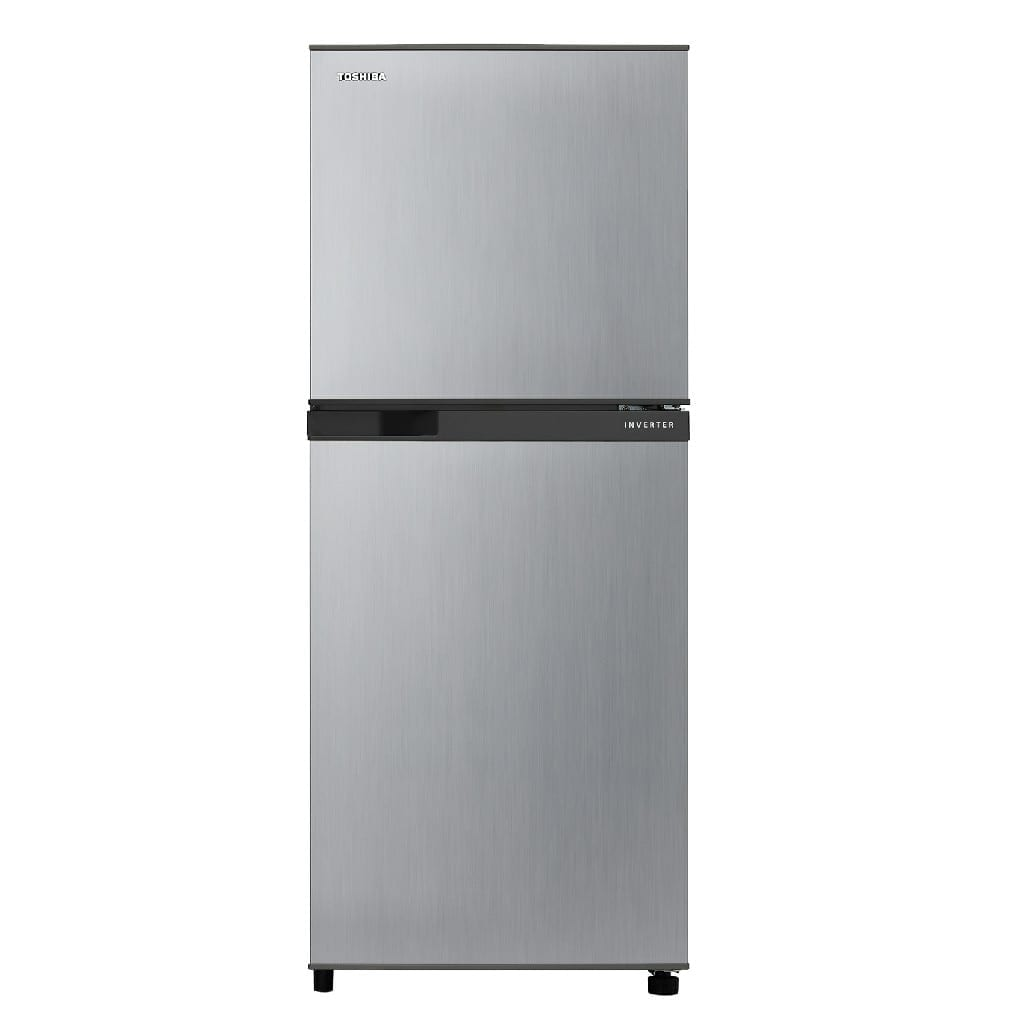 250Ltr,Toshiba Double Door Refrigerator   Silver Color,  Inverter Model  50-60Hz  Made In  Thaland, (H*135,W*55,D*60Cm)