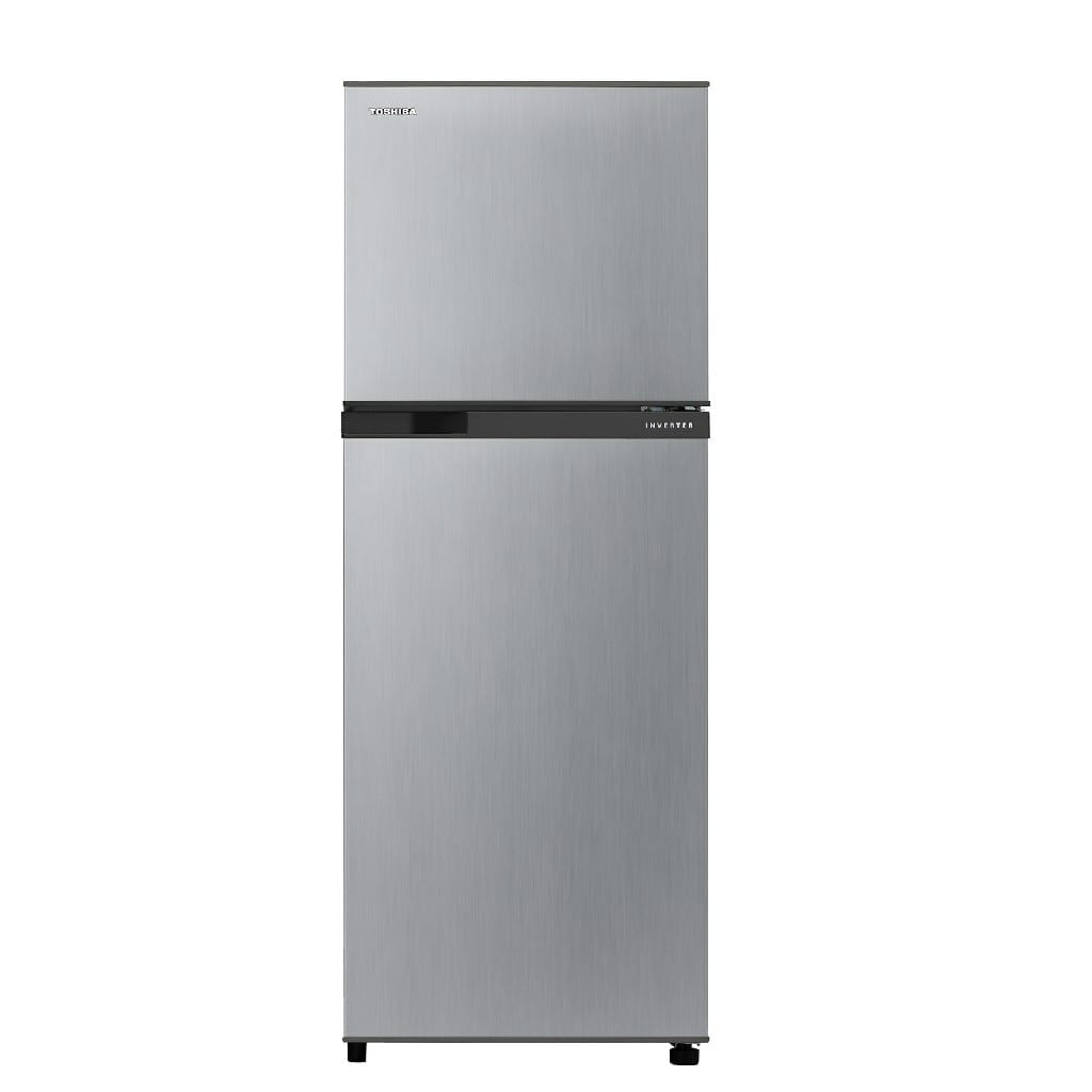 290 Ltr,Toshiba  Double Door Refrigerator  Silver Color, Inverter Model  50-60Hz   Made In  Thaland,(H*154,W*55,D*60Cm)
