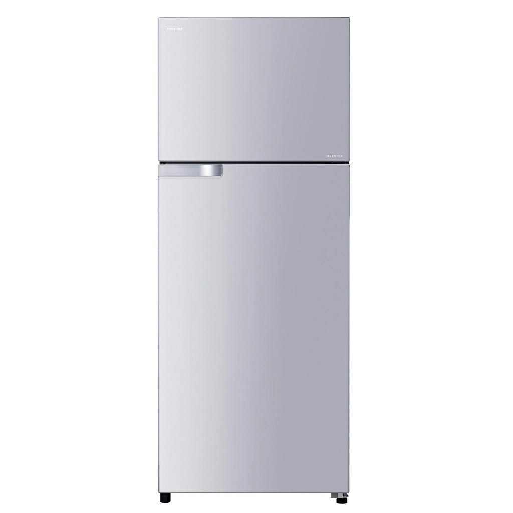 565Ltr,Toshiba Doubledoor Refrigerator,Led Hybrid Deodrizer,Glass Shelf,Metalic Silver  Color, Made Thailand, (H*178,W*68,D*72Cm)