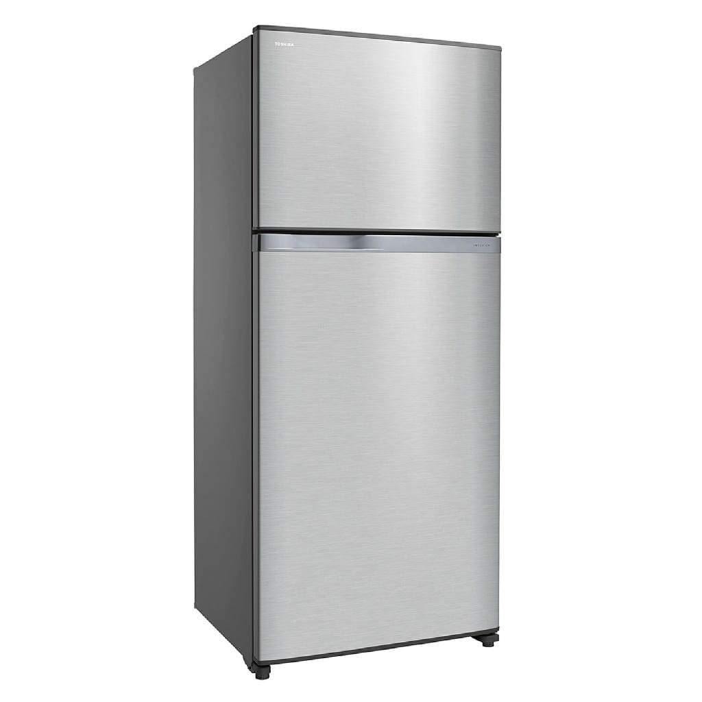820 Ltr,Toshiba Doubledoor Refrigerator,Led Hybrid Deodrizer,Glass Shelf,Silver Color,Made Thailand, 50-60Hz (H*185,W*81,D*75Cm)