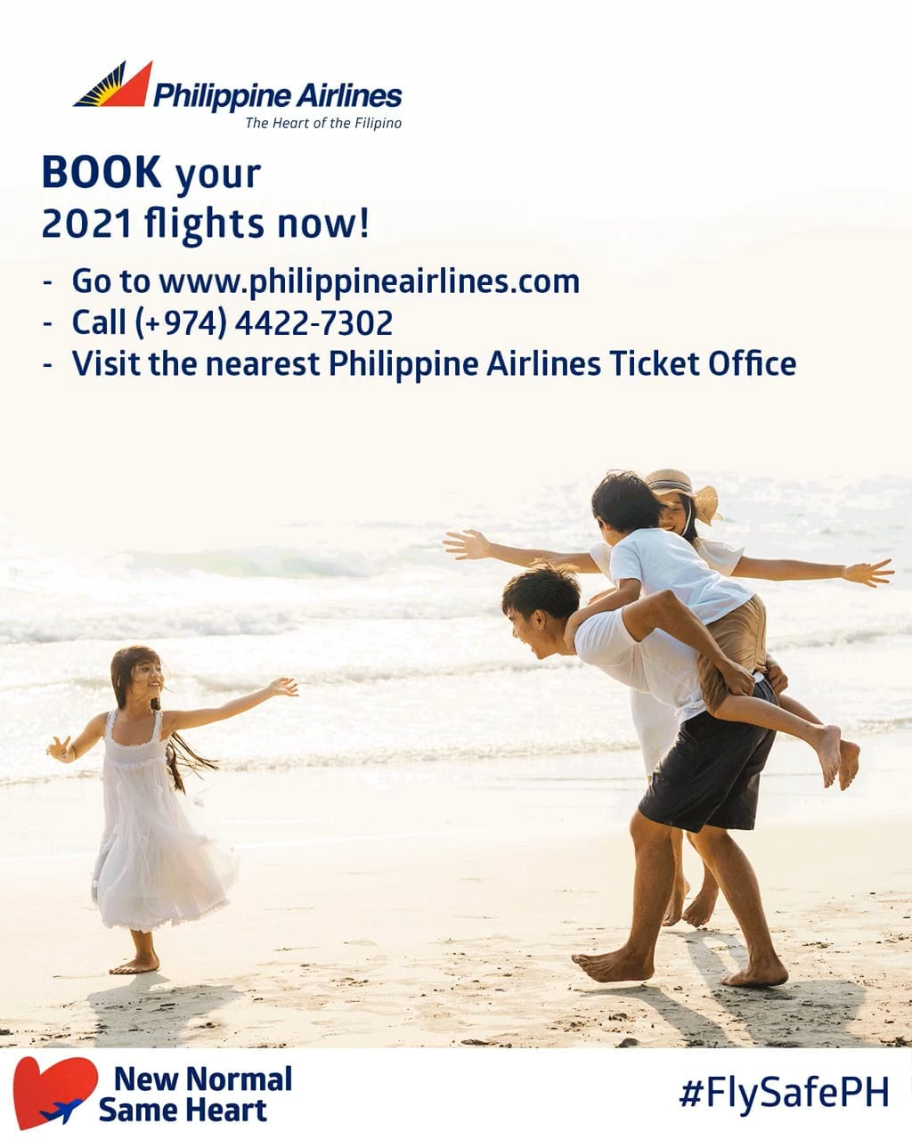 Fly Philippine Airlines.