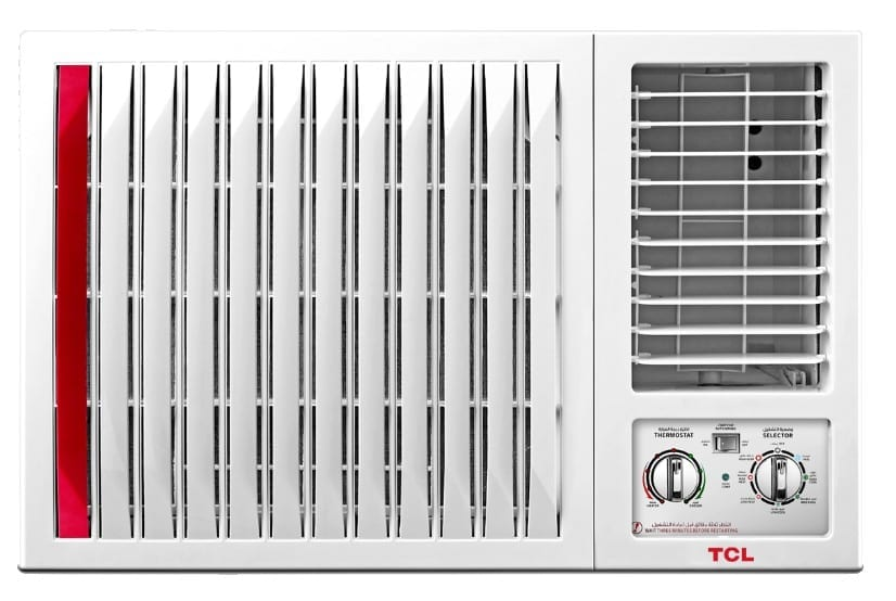 Tcl Window Ac 1.5 Ton Rotory Compressor, 17214 Btu, Eer: 10.16, 4 Star Ac,  R410 Gas , 220-240V, Made China
