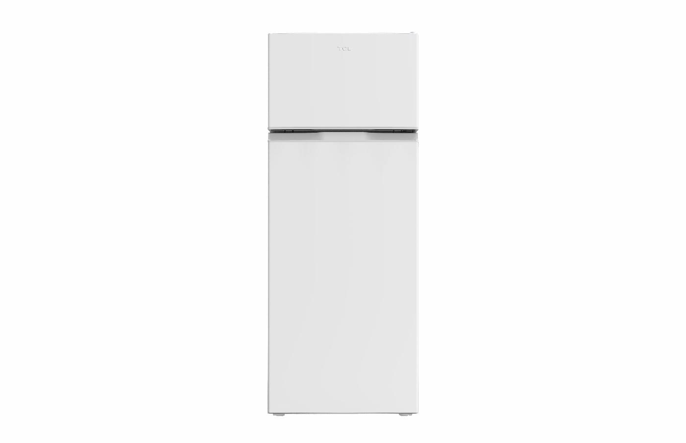 Tcl 260L Tm Double Door Ref, Defrost, White Color, 220-240V/50Hz, R600A, Condensor Inside, Bs Plug (W * D * H) 545*550*1440