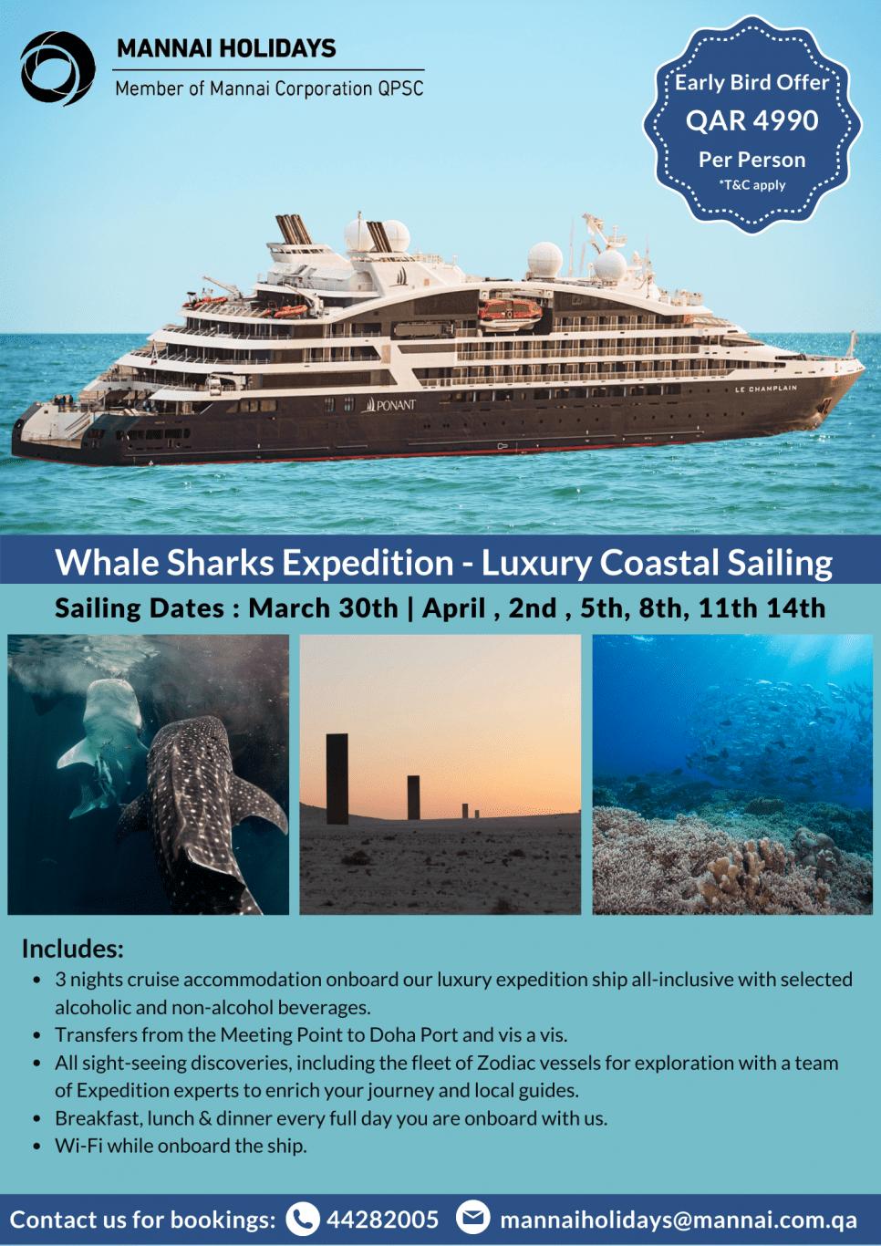 Luxury Coastal Sailing in Qatar