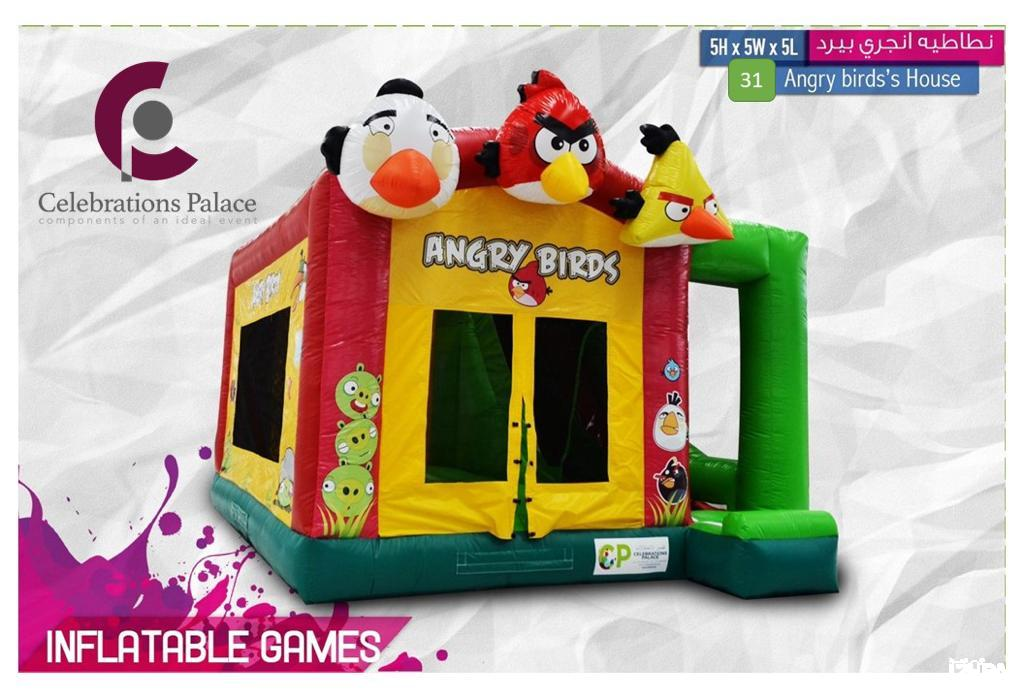 31-Angry Birds's House
