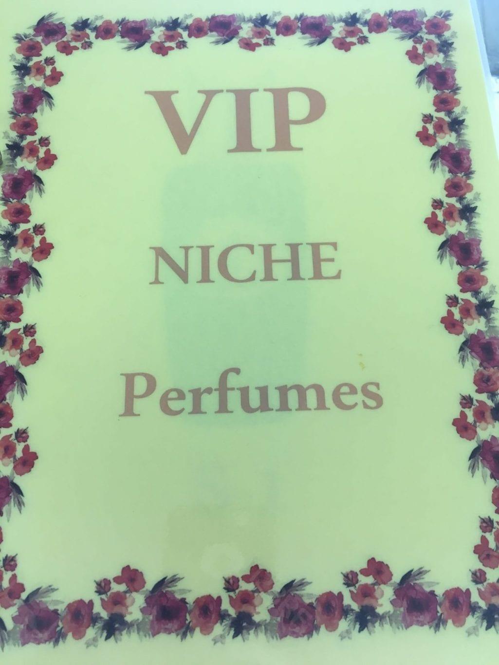 Vip niche perfumes