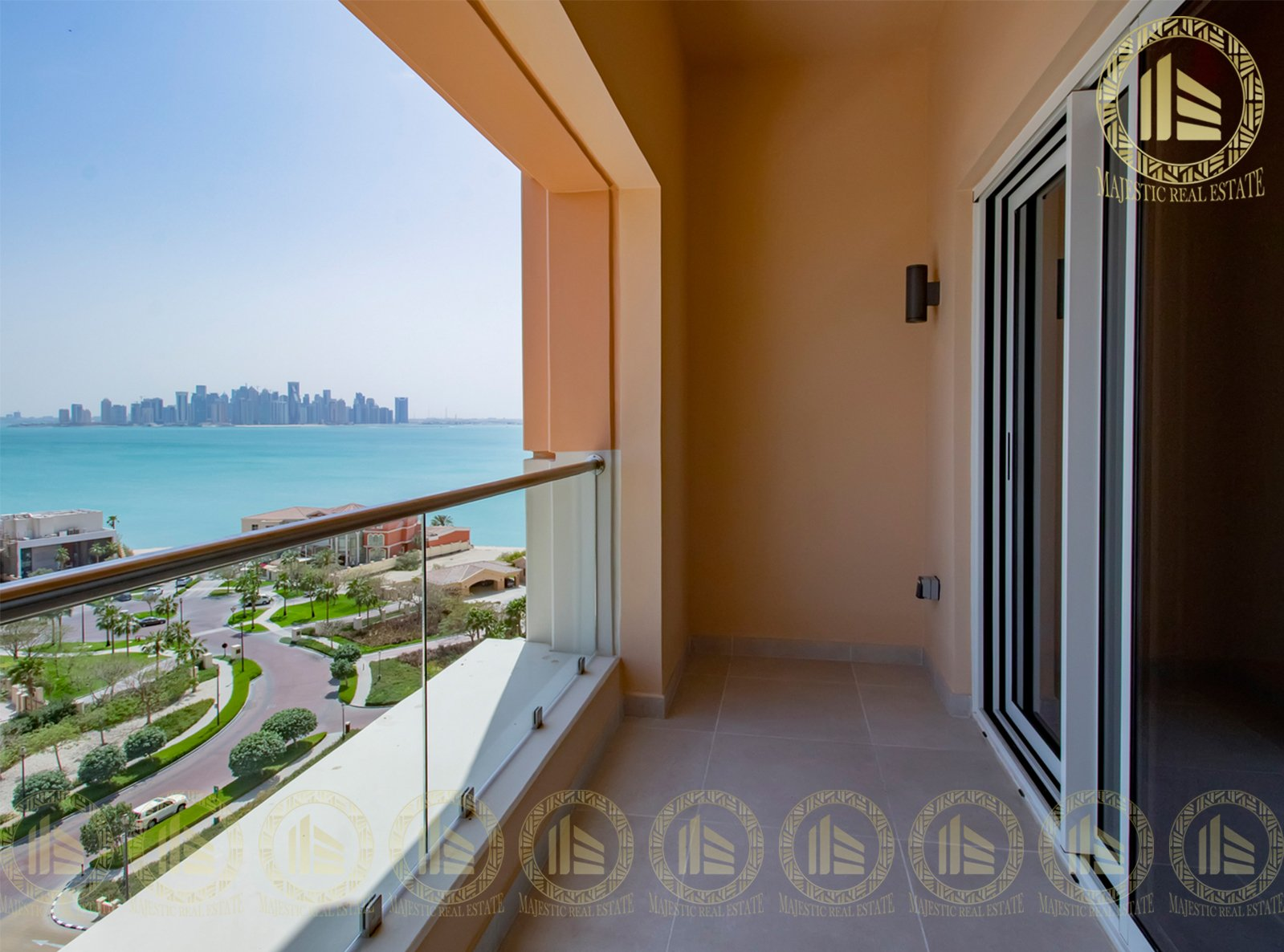 With Amazing view! Spacious 2 Bedroom Apartment   Maid's Room & Balcony