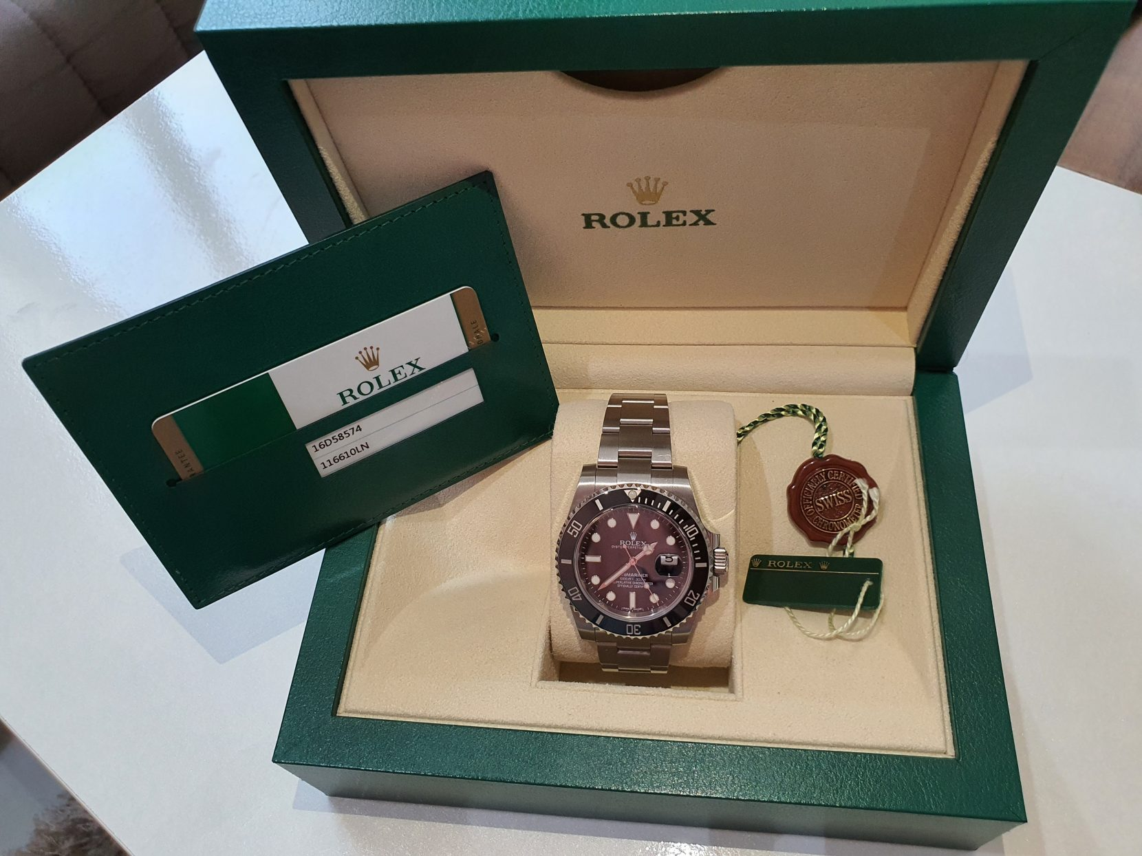 Submariner rolex watch