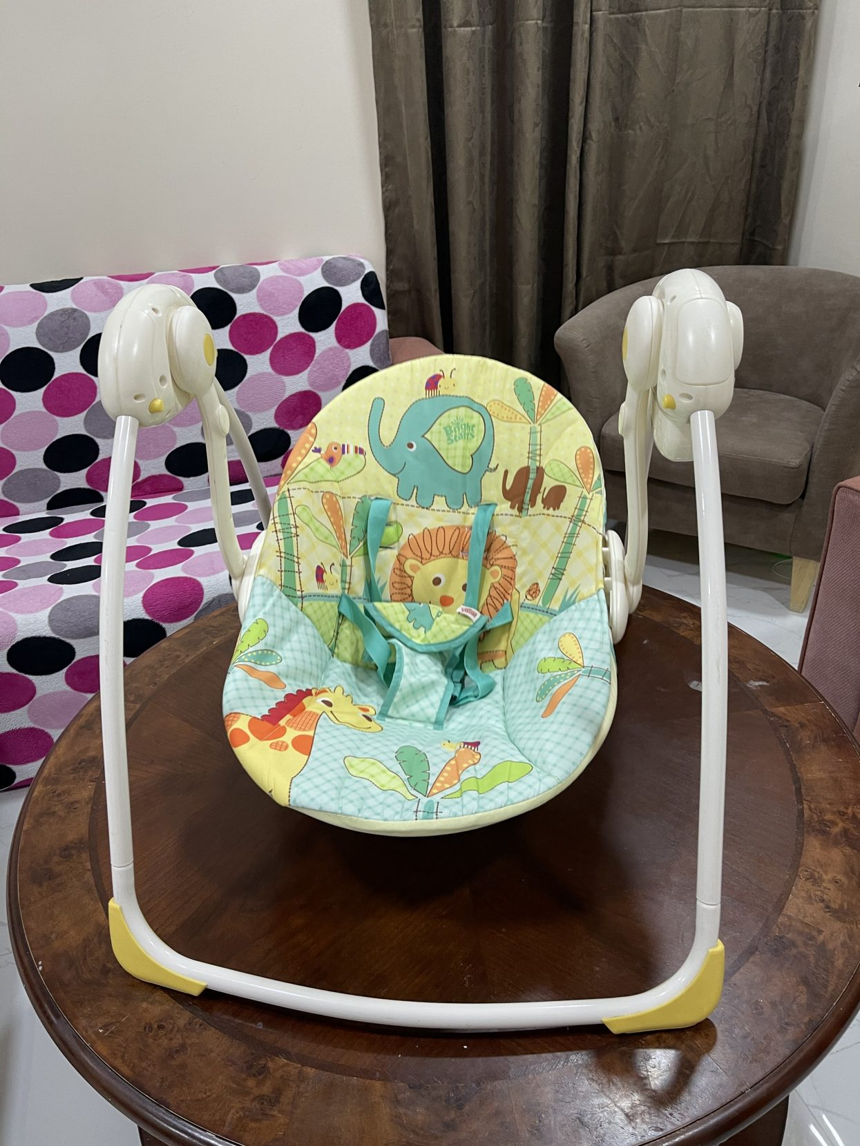 Baby battery operated swing
