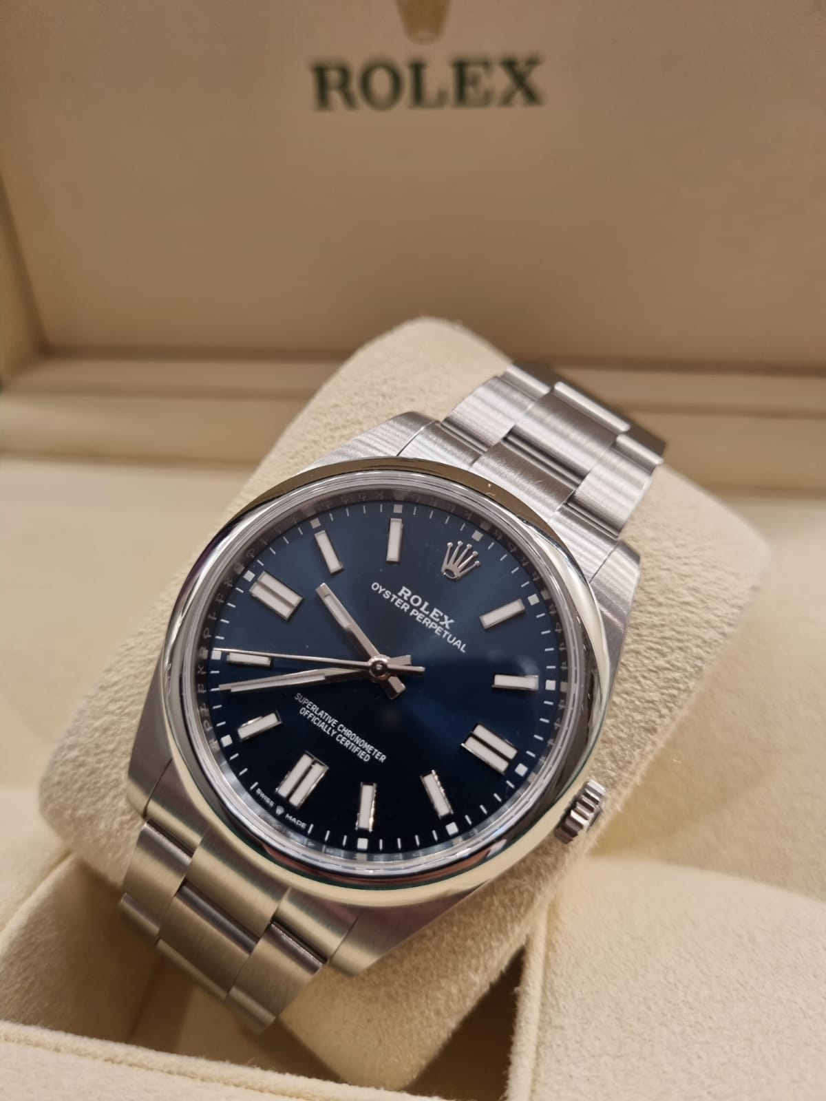 Rolex oyster perpetual 41mm new