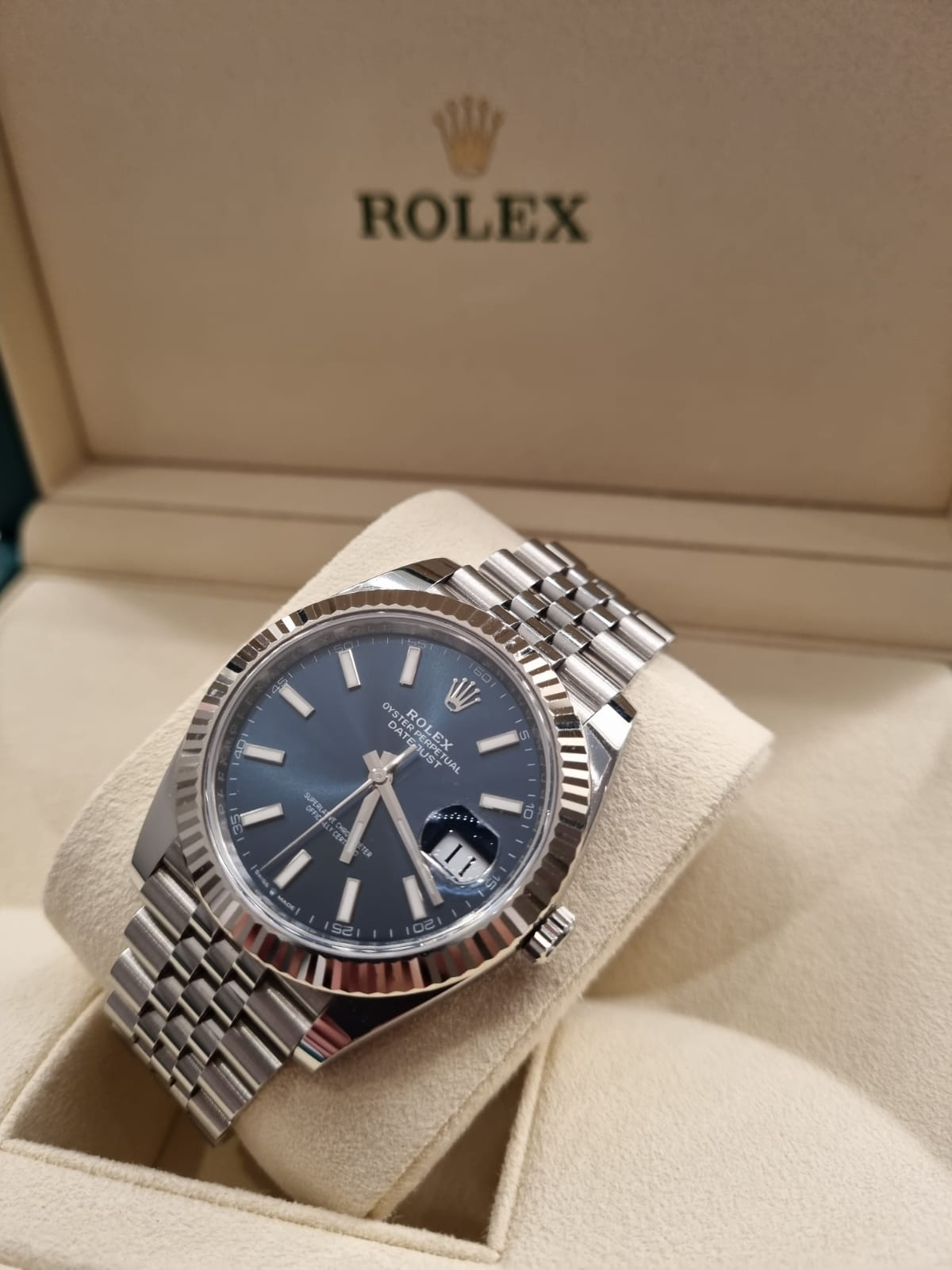 Rolex date just 41mm 2020 jubilee