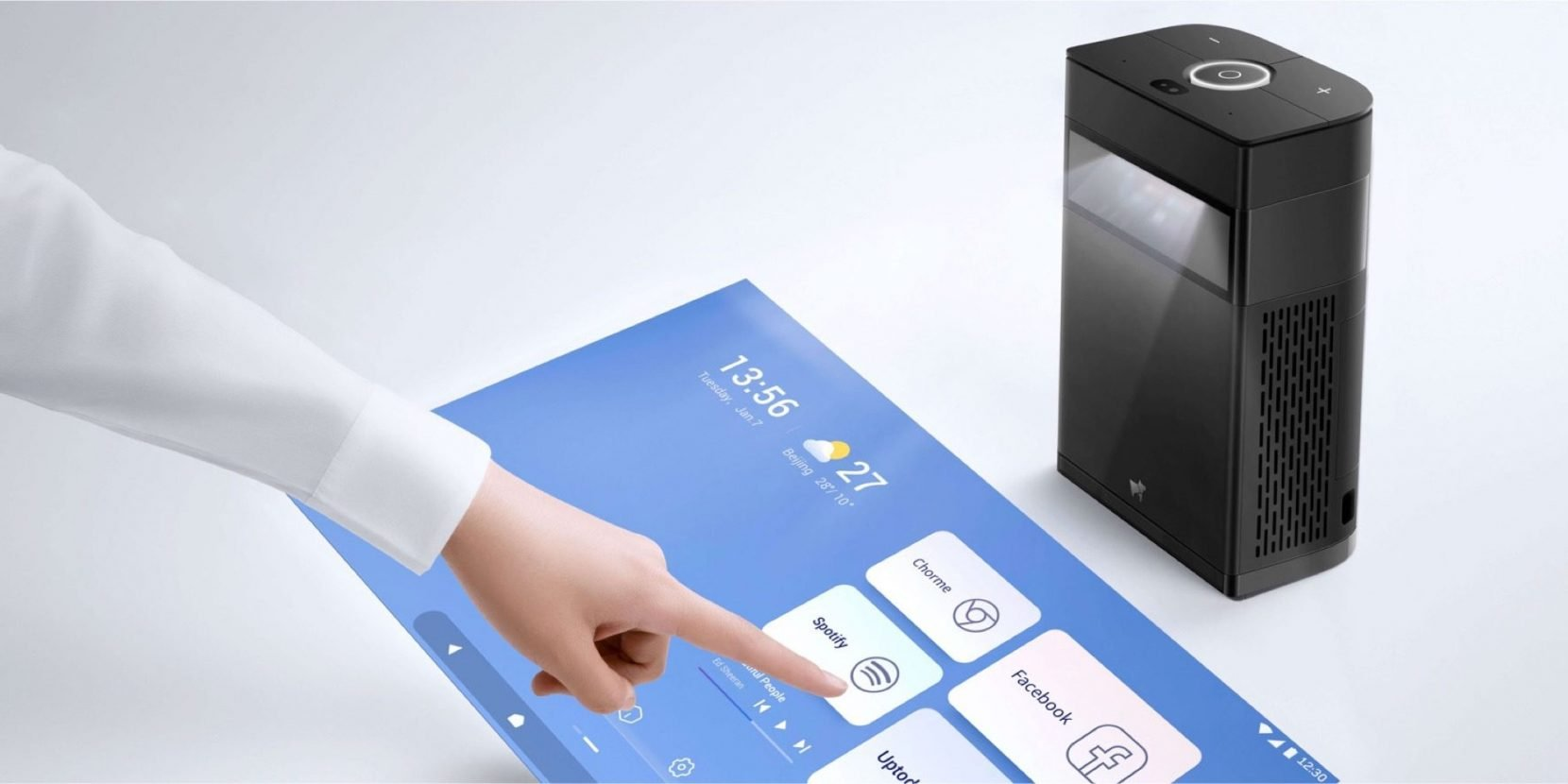 Hachi Interactive Touchscreen Projector