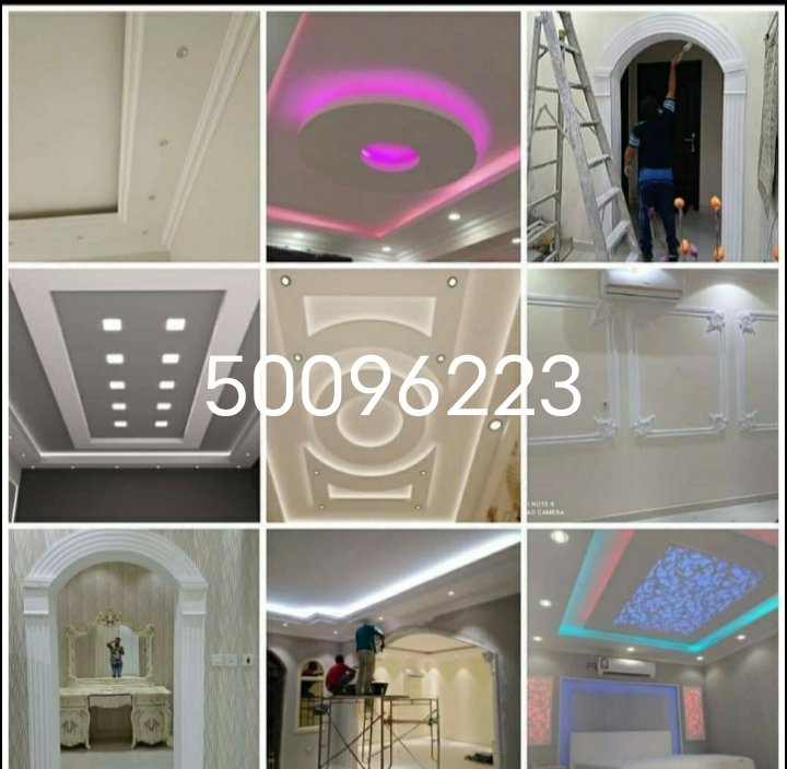 All Gypsum board and painting Dacor