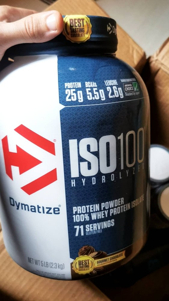 Supplement iso 100