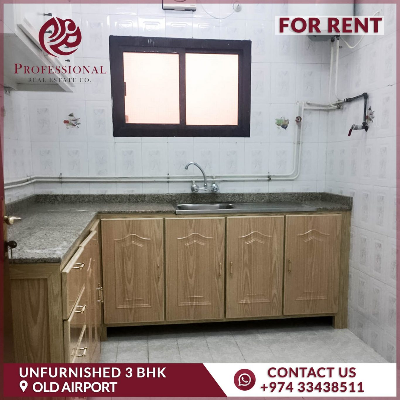 [1 Month Free] Unfurnished, 3 BHK Flat in Old Airport