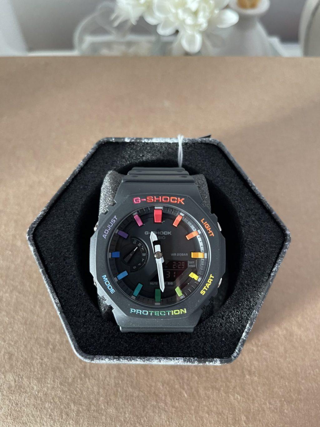 G-Shock royal oak Rainbow edition
