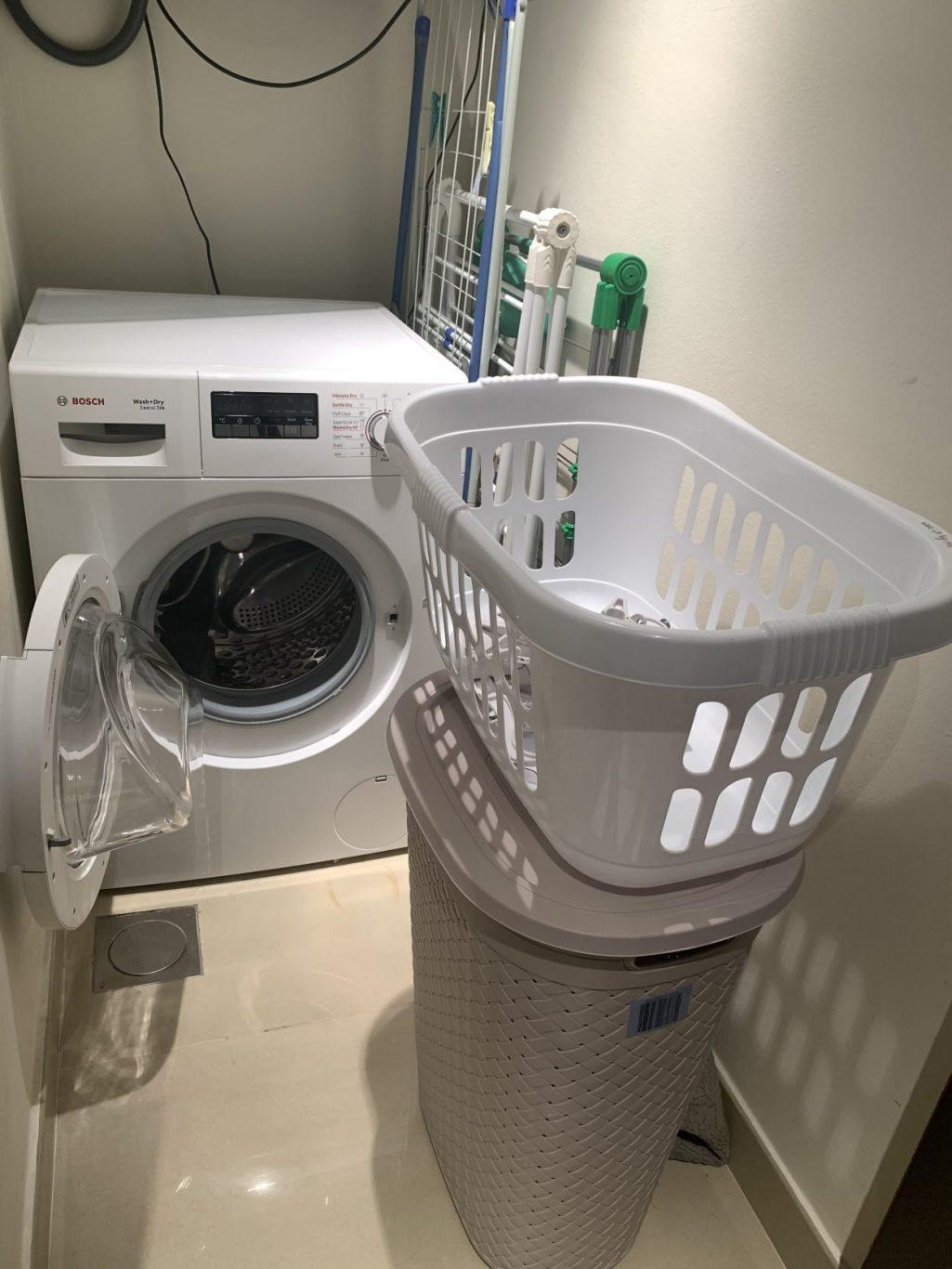 Bosch washing & drying machine   extras