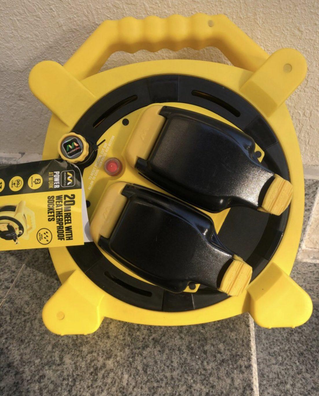 20 meters electric weather proof reel