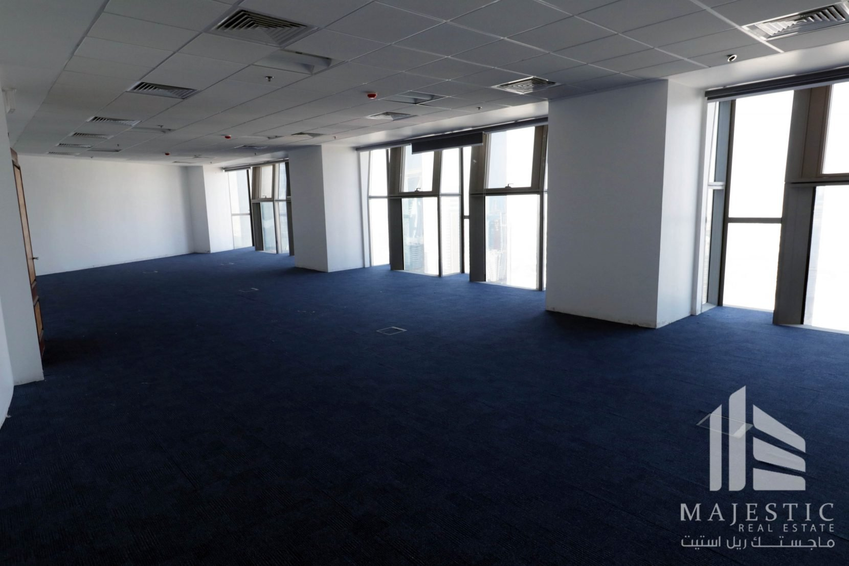 Great location OFFICE SPACE in Palm Tower West Bay