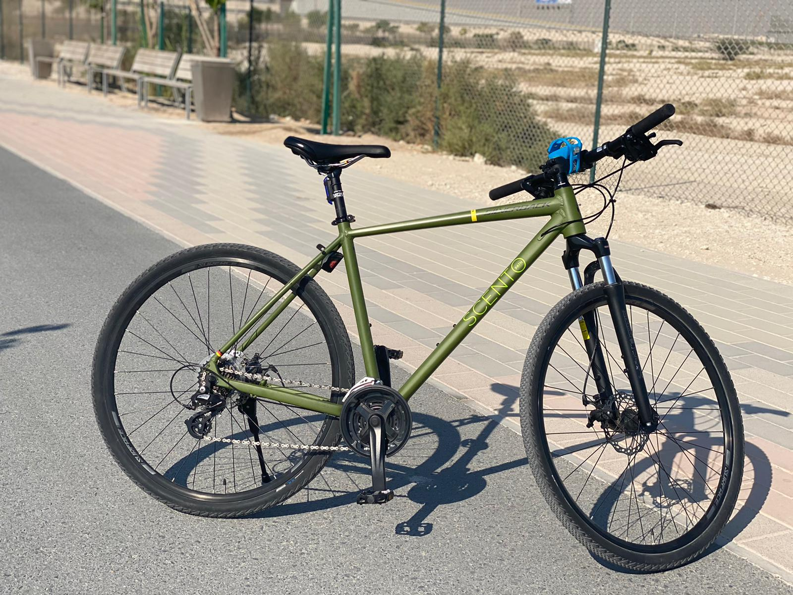 Silverback SCENTO(german) brand hardly used cycle is for sale