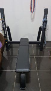 Olympic flat bench