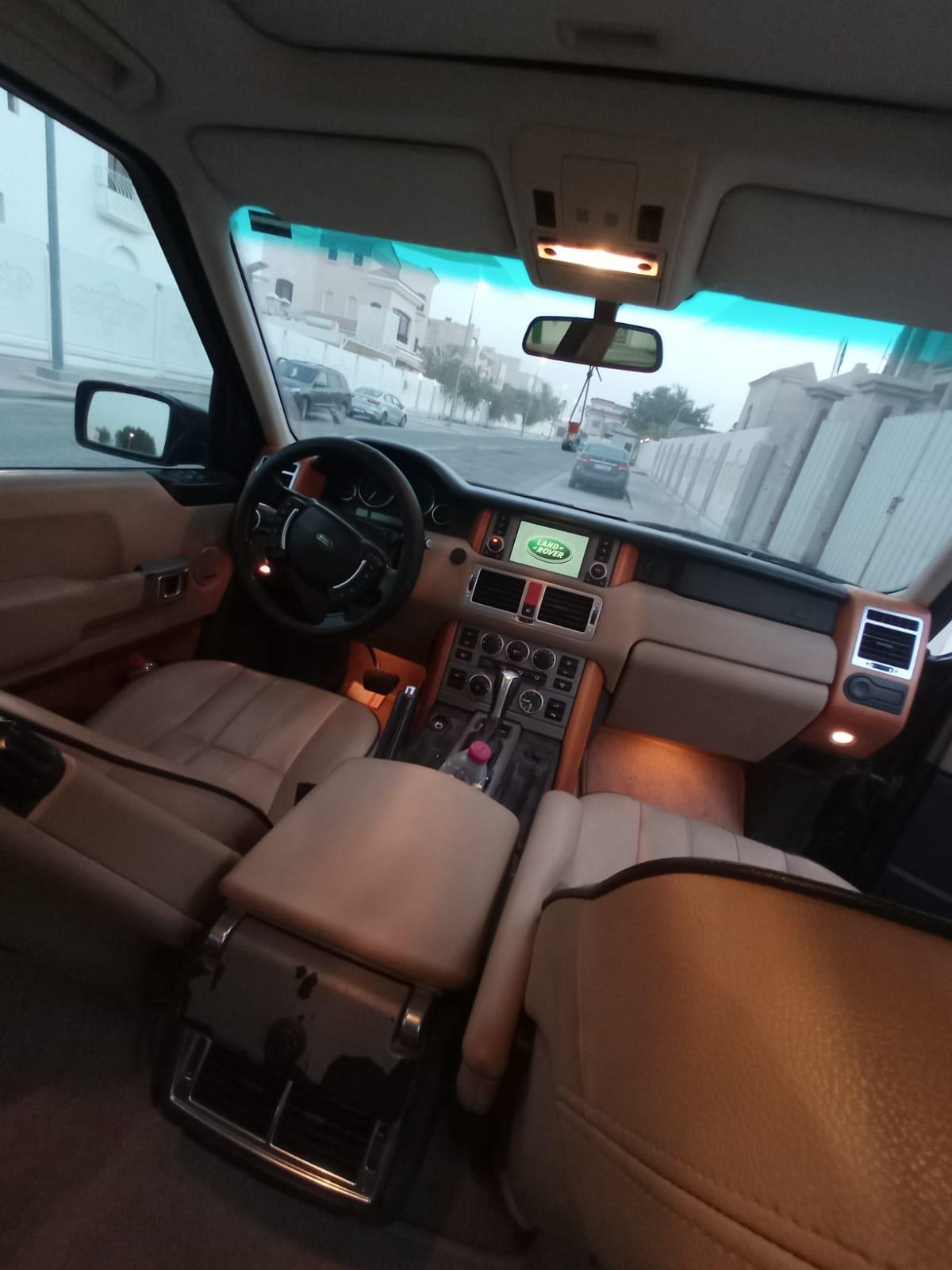 سيارة رنج روفر للبيع