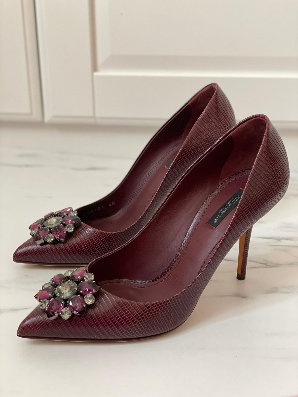 حذاء كعب Dolce & Gabbana
