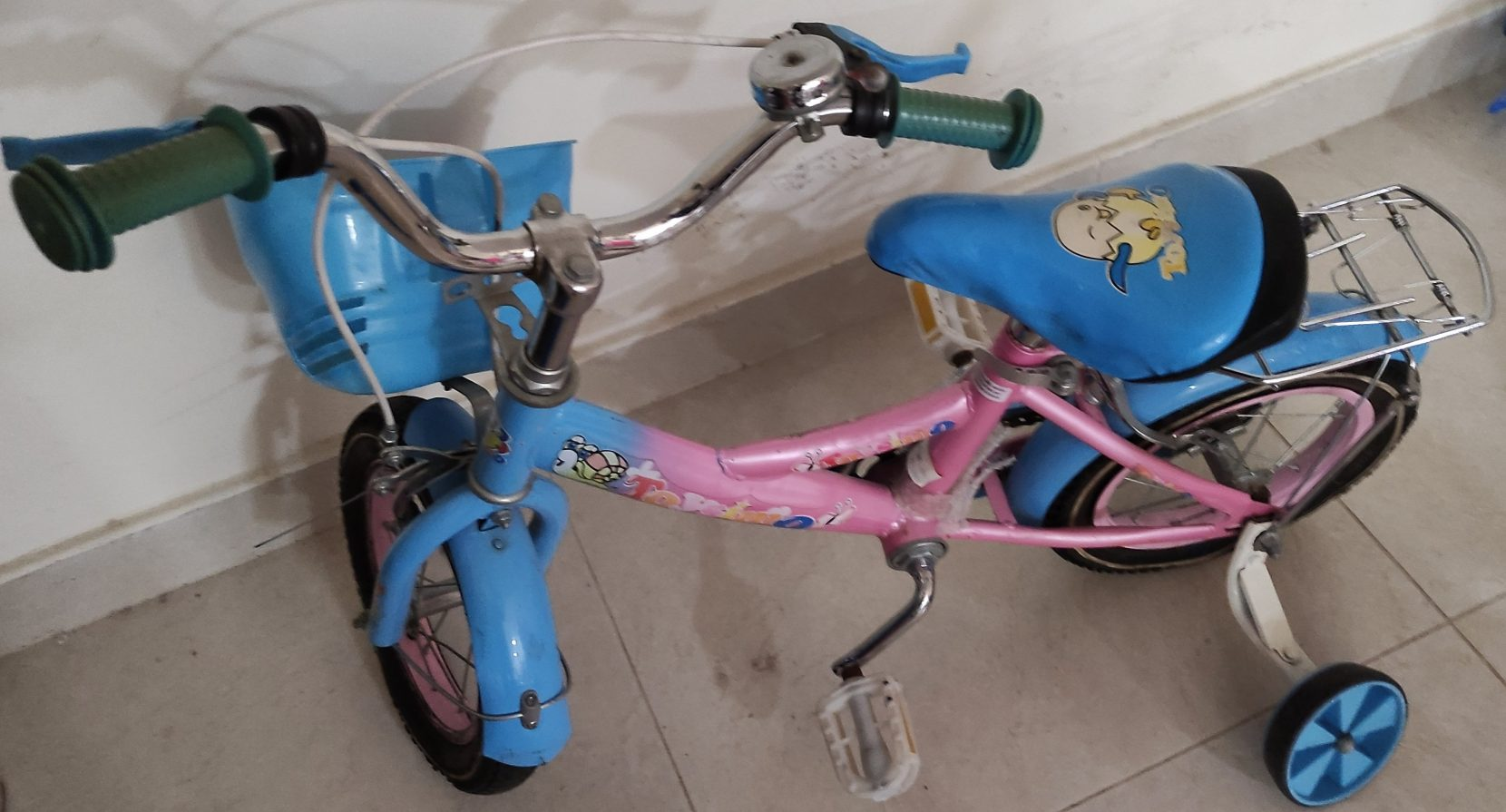 دراجة صغيرة بحالة جيدة