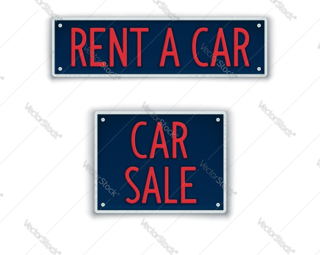 Rent A Car for Sale