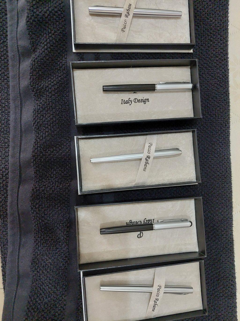 Original Pacco Rabane pens