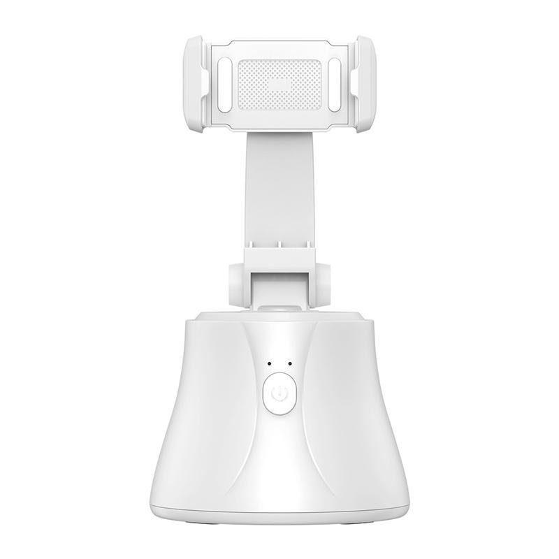 Baseus تريبود للتصوير مع تتبع ذكي للوجه 360 درجة – أبيض