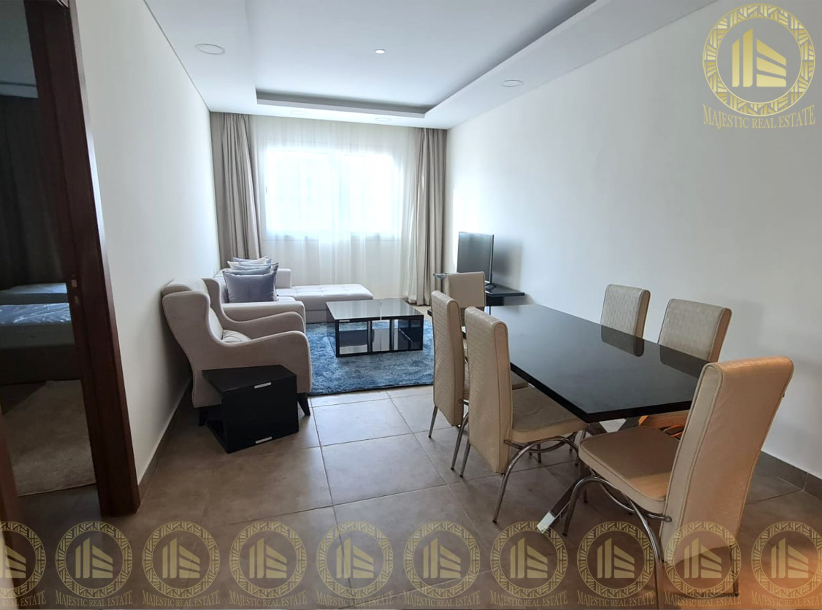 Ready To Rent, F/F 2 Bedrooms Apartment in Al Erkyah City Lusail