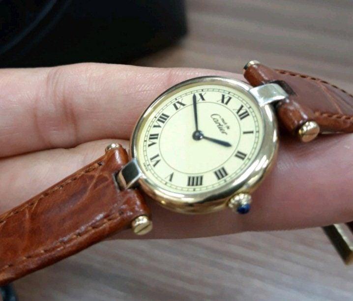 Must de Cartier Vintage women's watch
