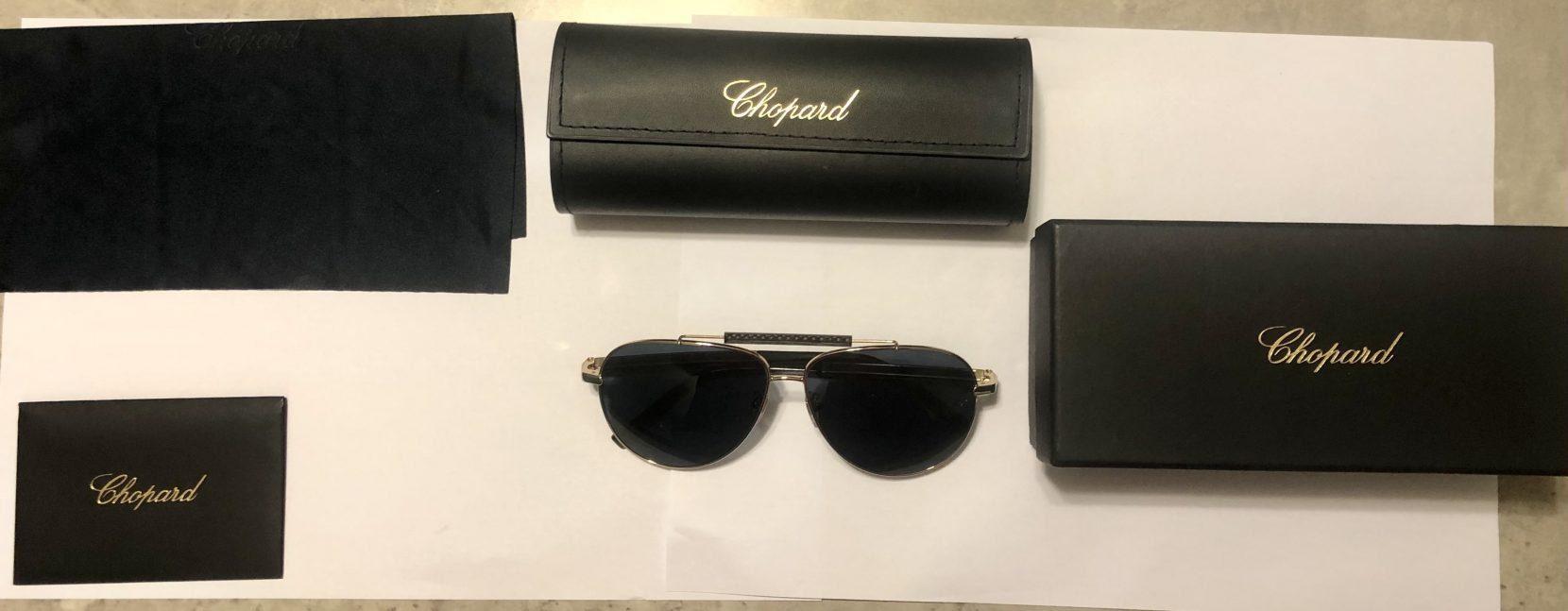 Genuine New CHOPARD Men Sunglasses