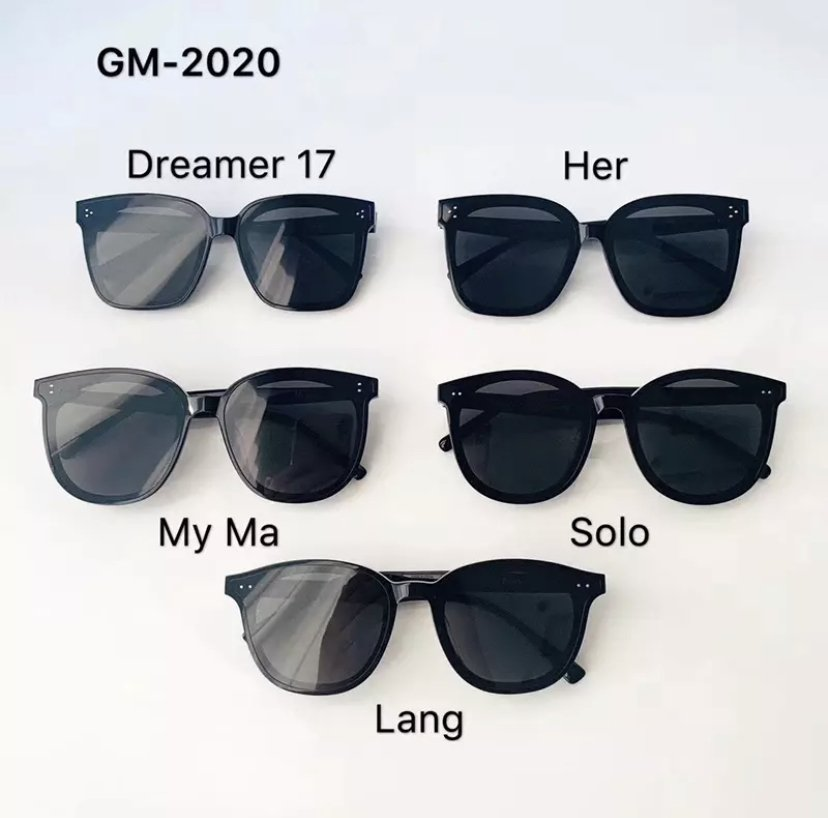 High quality Gentle Monster sunglasses