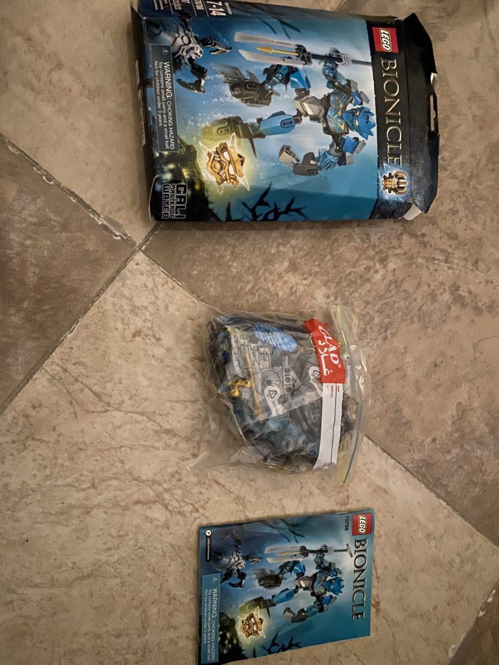 A bionicle lego set