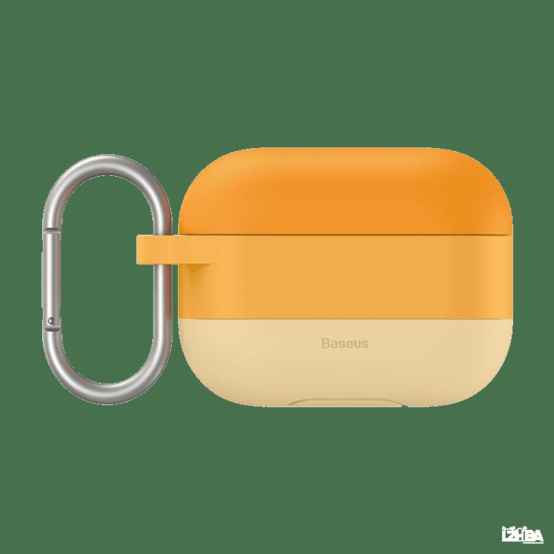 Baseus كفر ملون للايربود برو – برتقالي