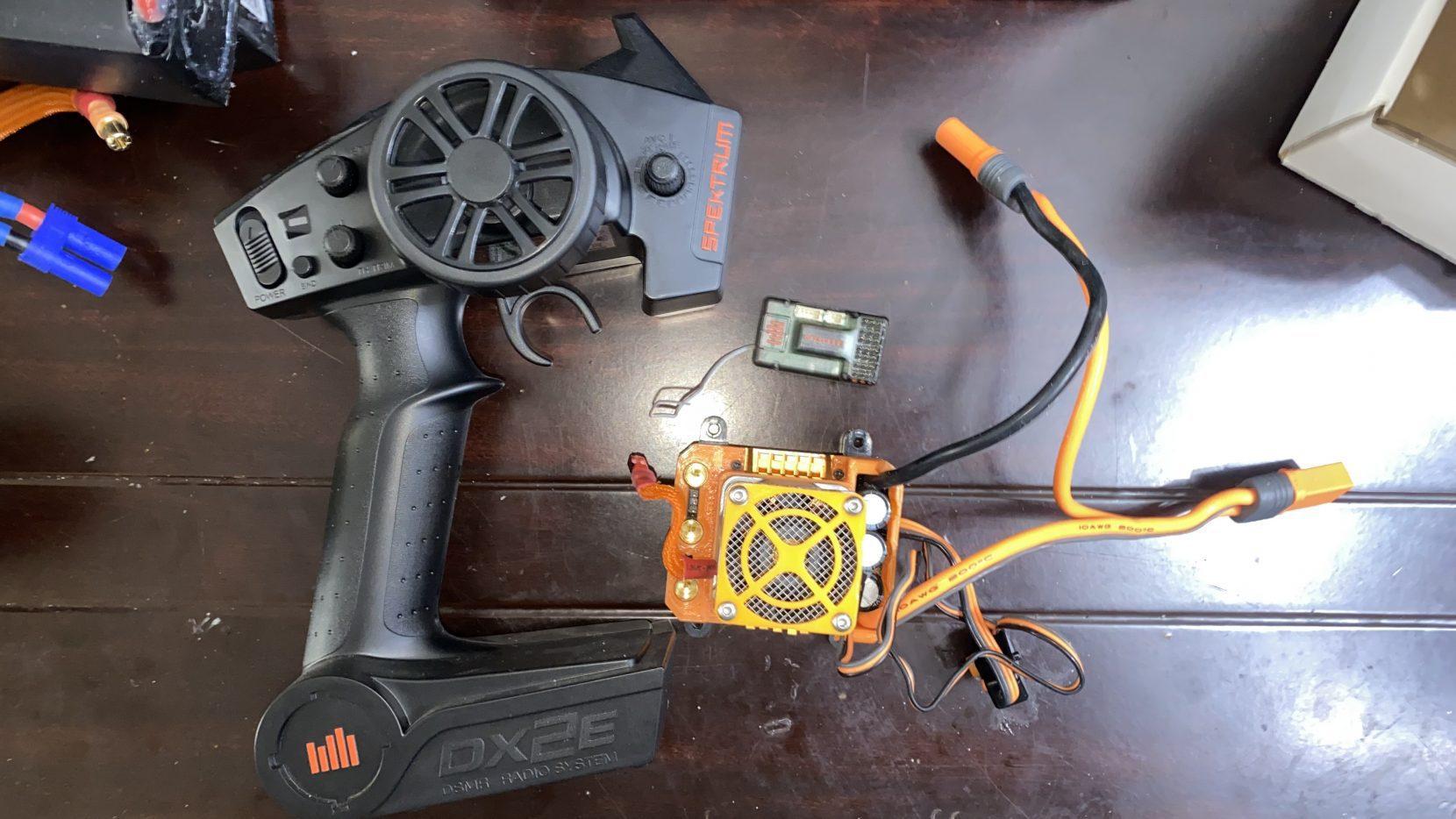 Spektrum : Firma 160A Smart ESC  Dx2e  Receiver