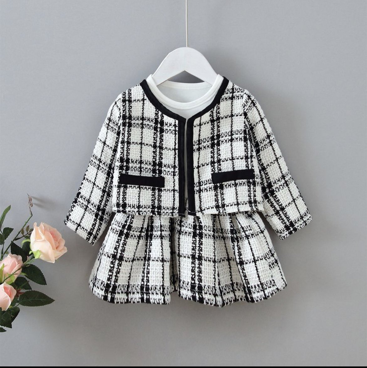 Girls 2 Pieces dress (Size-120)