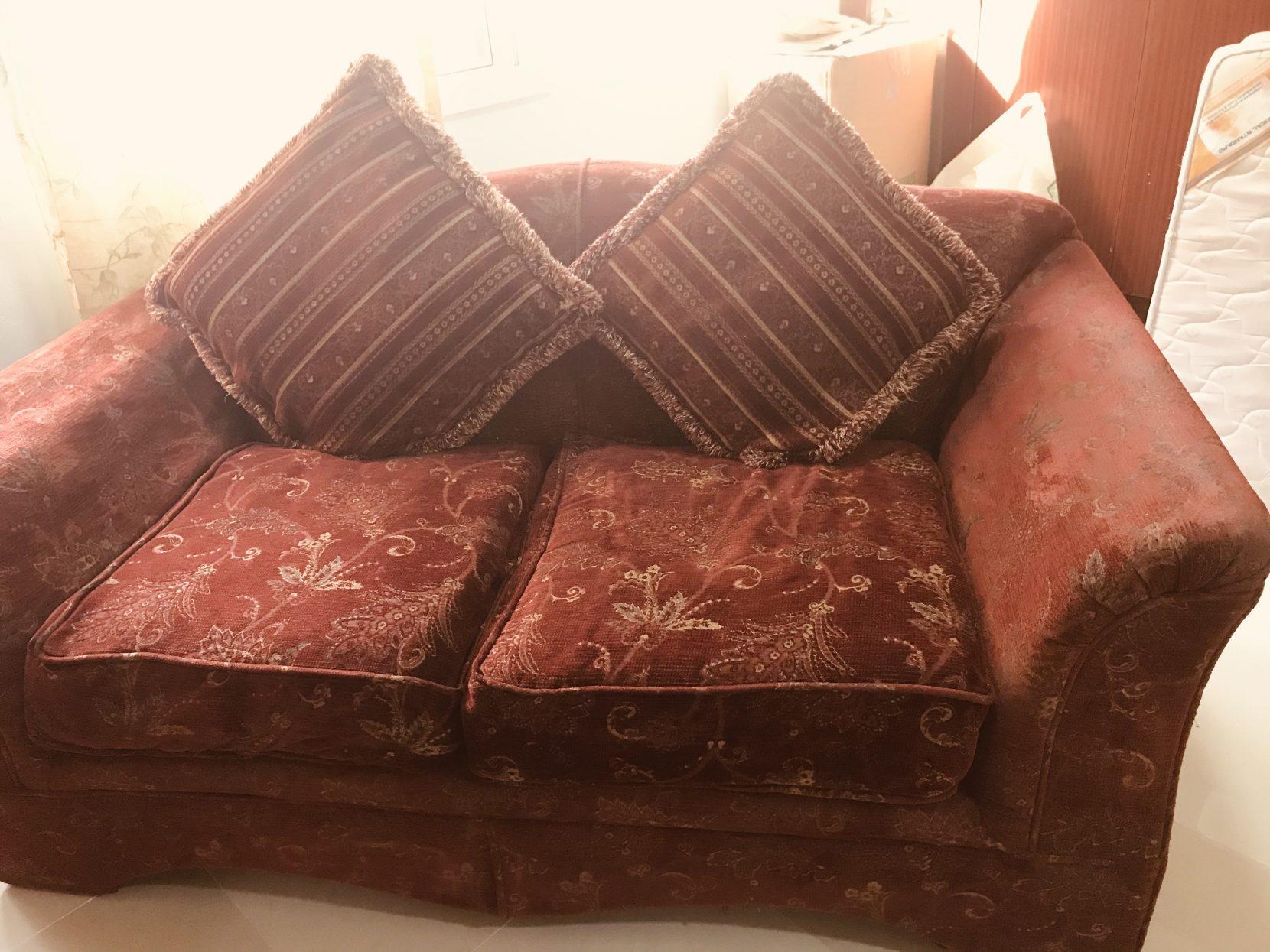Two seater sofa for sake