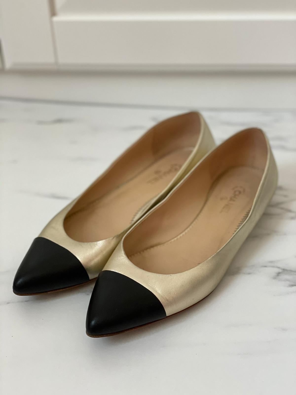حذاء شانيل