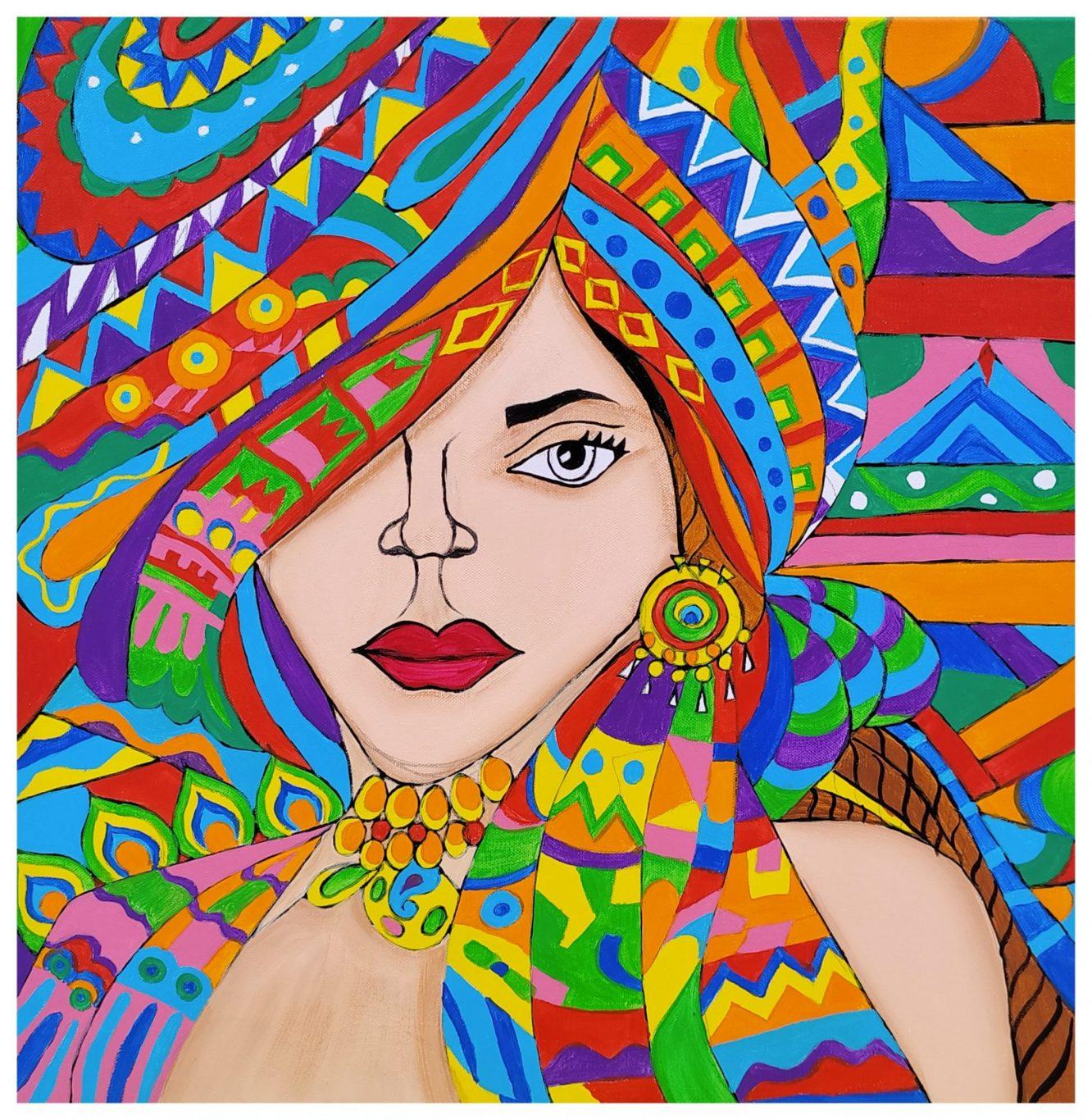 Beautiful Women with Turban