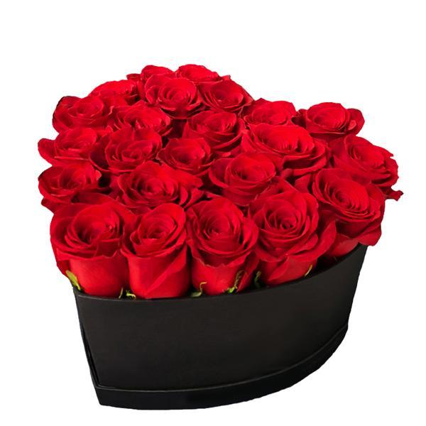 Medium Red Heart Box