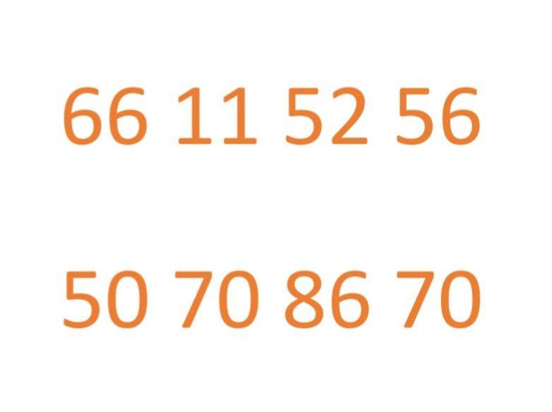 Ooredoo Fancy Numbers