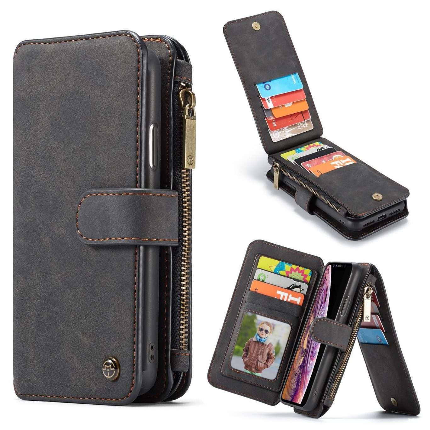 KL-02558 SAMSUNG Phone Leather Case – Black