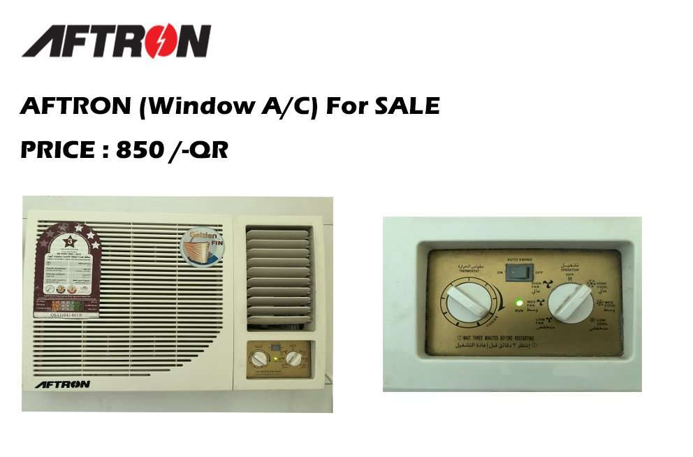 AFTRON (Window A/C ) For SALE