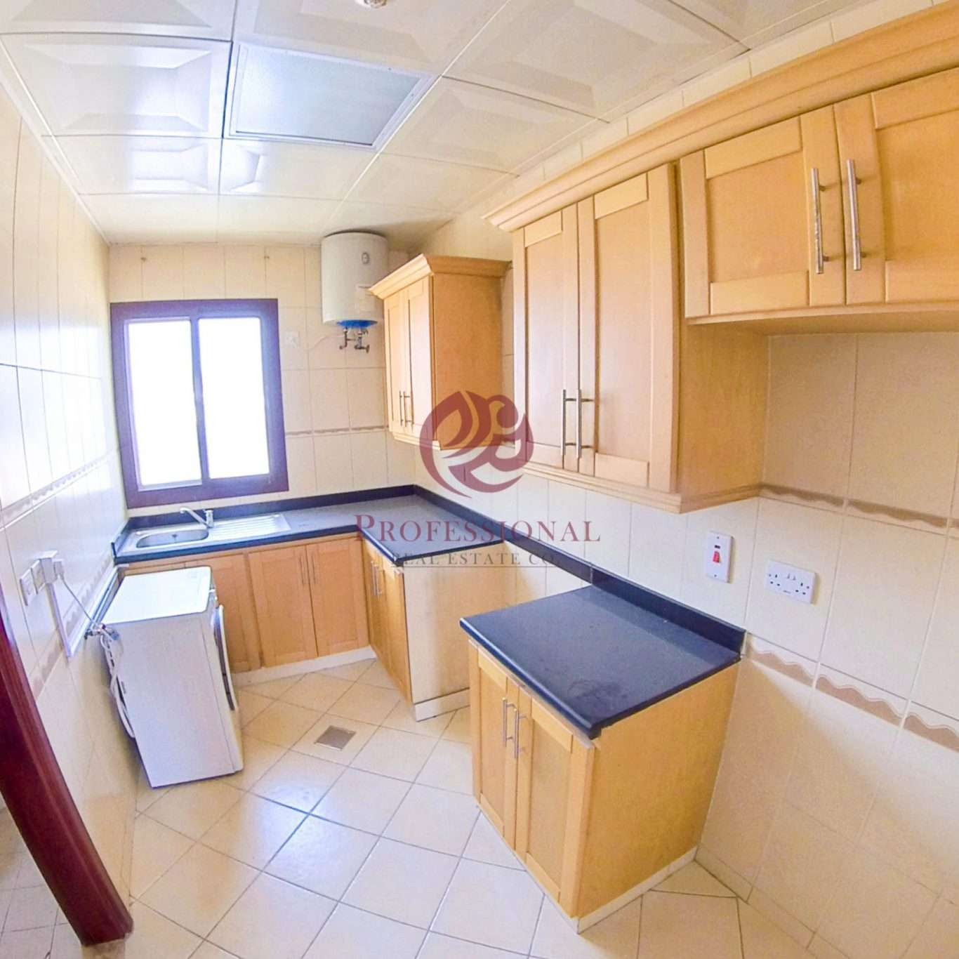 Semi-Furnished, 1 BHK Apartment in Maamoura