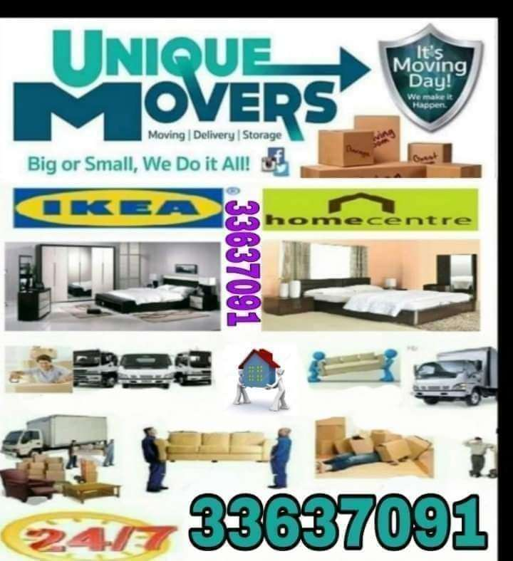Moving shifting packing and carpenter services