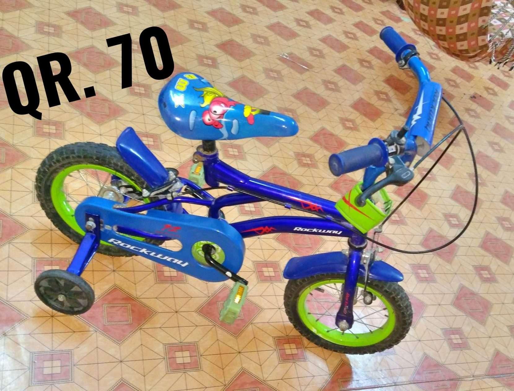 Kids Cycle Blue Colour